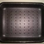MEAT TRAY 11.9″X9.9″X1.2″  BLACK FOAM  TFB009H