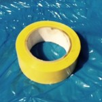 VINYL TAPE 2″X36YD YELLOW 24 ROLLS/CASE CVT636