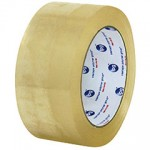 CARTON SEALING TAPE 2″X110YD ACRYLIC CLEAR WHISPER SMOOTH 36 ROLLS/CASE 130WS