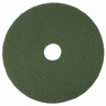 SCOURING PAD FLOOR 20″ GREEN 5/CS