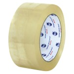 CARTON SEALING TAPE 3″X1000YD MACHINE LENGTH CLEAR 4 ROLLS/CASE IPG 271
